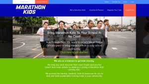 desktop - marathon kids - home page