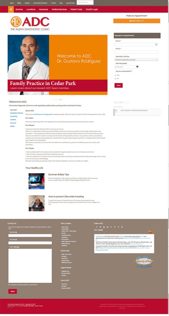 Home Page - Austin Diagnostic Clinic