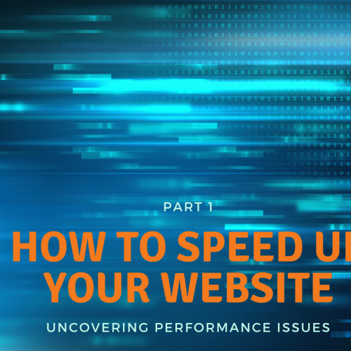 Speeding Up your Website